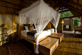 Link to Tongabezi Lodge, on the banks of the Zambezi River, Zimbabwe
